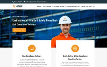 MiSAFE Solutions Web Design