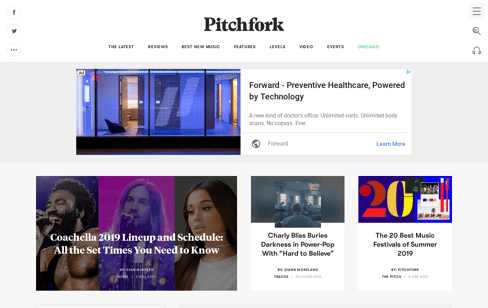 Pitchfork Web Design