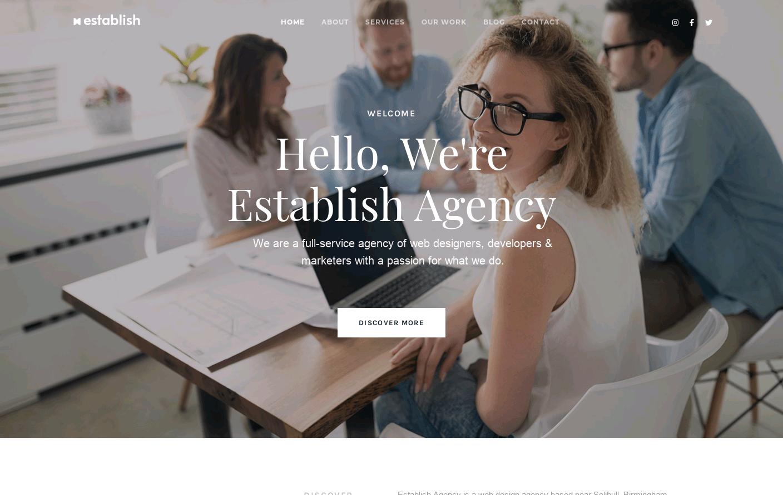 Establish Agency