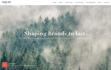 Squat New York Web Design