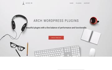 Arch Theme Web Design