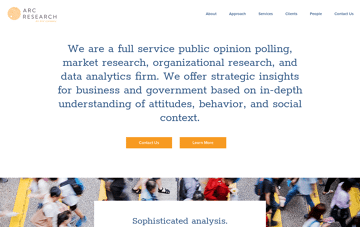 Applied Research & Consulting Web Design