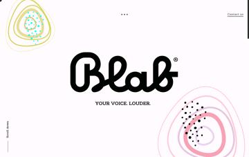Blab Studio Web Design