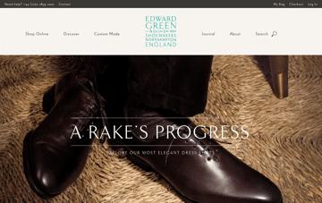Edward Green | Home | Men's English Shoes since 1890 Web Design