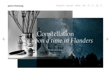 galerie stimmung Web Design