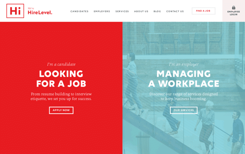 HireLevel Web Design
