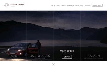 Jesper Gadeberg Web Design