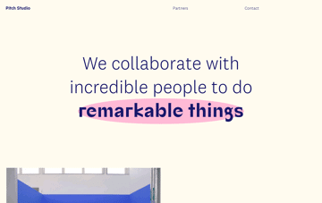 Pitch Studio Web Design
