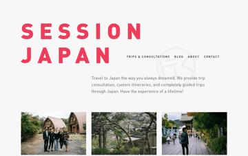 Session Japan Web Design