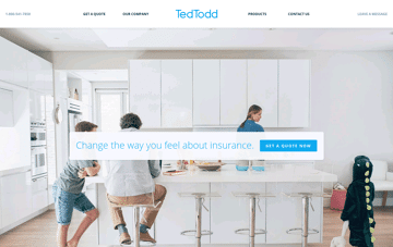 Ted Todd Insurance Web Design
