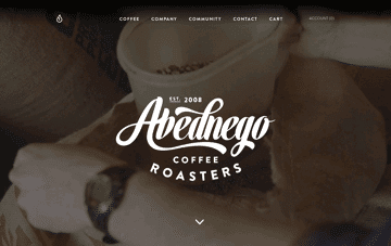 Abednego Coffee Web Design