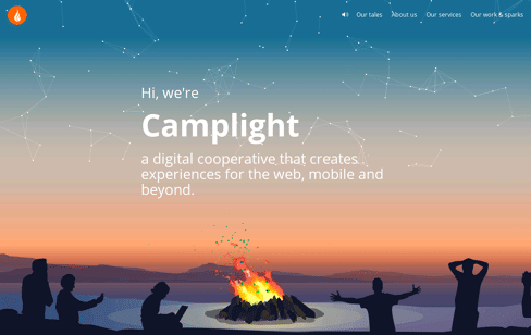Camplight Web Design