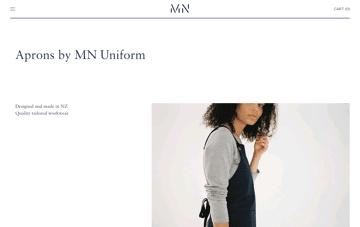 MN UNIFORM  Web Design