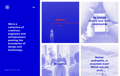 Pogon Collective Web Design