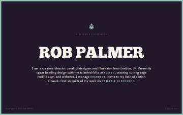 Rob Palmer Web Design