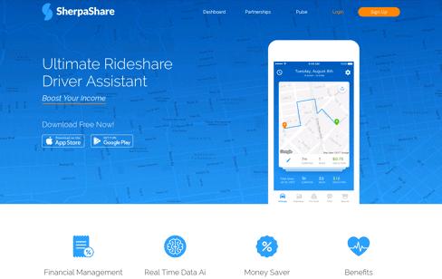 SherpaShare Web Design