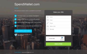 Spend Web Design