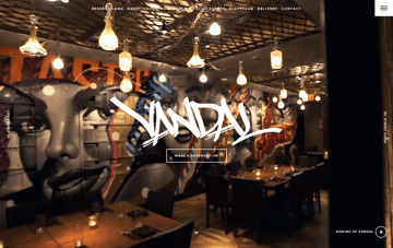 Vandal New York Web Design