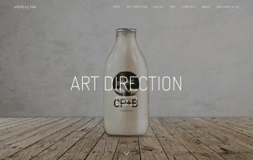 ANDREAS PAN Web Design