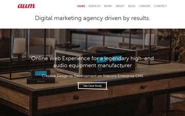 Aumcore NYC Web Design