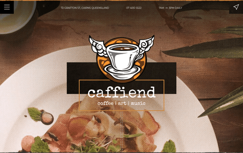 Caffiend Web Design