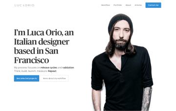 Luca Orio Web Design