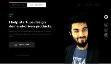 Taiyab Raja Freelance UI/UX Designer Web Design