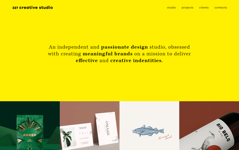327 Creative Studio Web Design