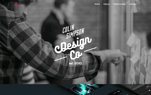 Colin Simpson Design Web Design