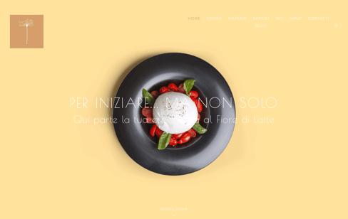 Fiore di Latte Pizzeria Ristorante Web Design