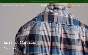 Gitman Vintage  Web Design
