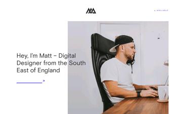 Matt Axell Digital Designer Web Design
