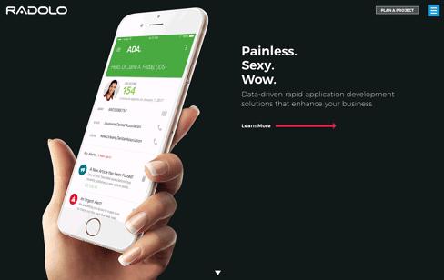 Radolo Mobile App Development Web Design