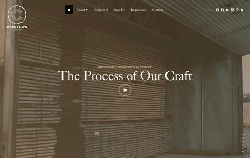 Cochrans Lumber Web Design