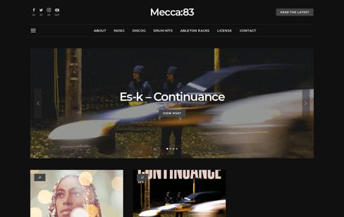 Mecca:83 Web Design