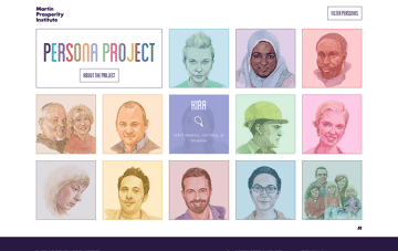 MPI Persona Project Web Design