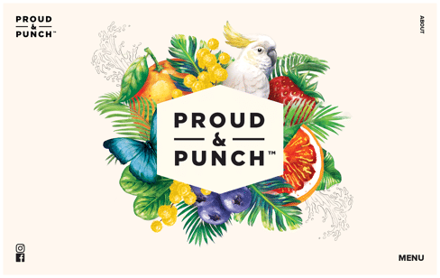 Proud & Punch Web Design