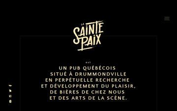 La Sainte Paix Web Design