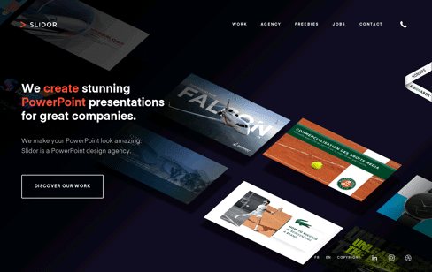 Slidor Web Design
