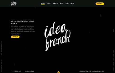 IDEA BRANCH Web Design