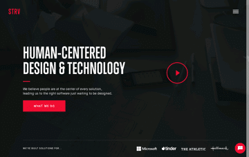 STRV App Agency Web Design
