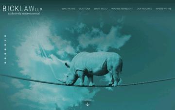 Bick Law  Web Design