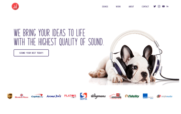 Decorated Air Studios Web Design