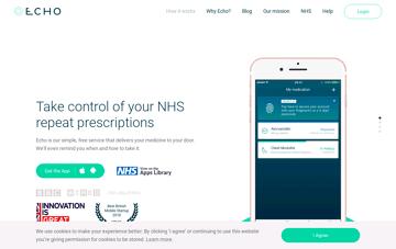 Echo : NHS Medication Management Web Design