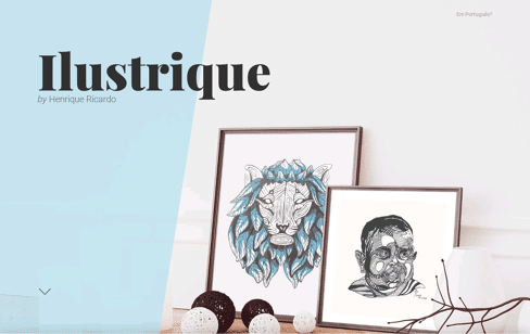 Ilustrique by Henrique Ricardo Web Design