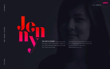 Jenny Johannesson Digital Designer Web Design