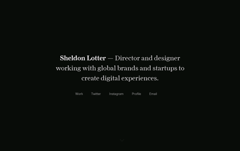 Sheldon Lotter Web Design