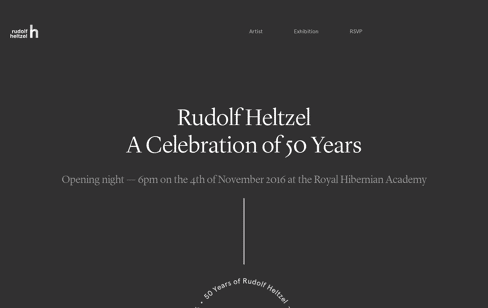 50 Years of Rudolf Heltzel Web Design