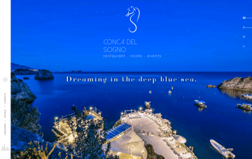CONCA DEL SOGNO Web Design