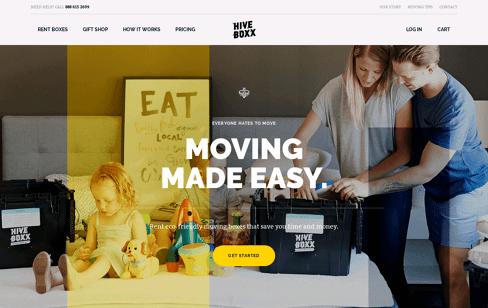 HiveBoxx Web Design